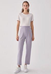 Touché Privé - Trousers - gray - 1