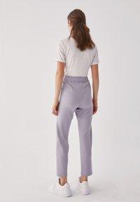 Touché Privé - Trousers - gray - 2