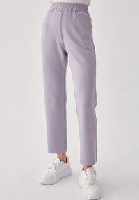 Touché Privé - Trousers - gray - 0