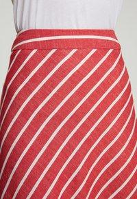 Touché Privé - A-line skirt - red - 4