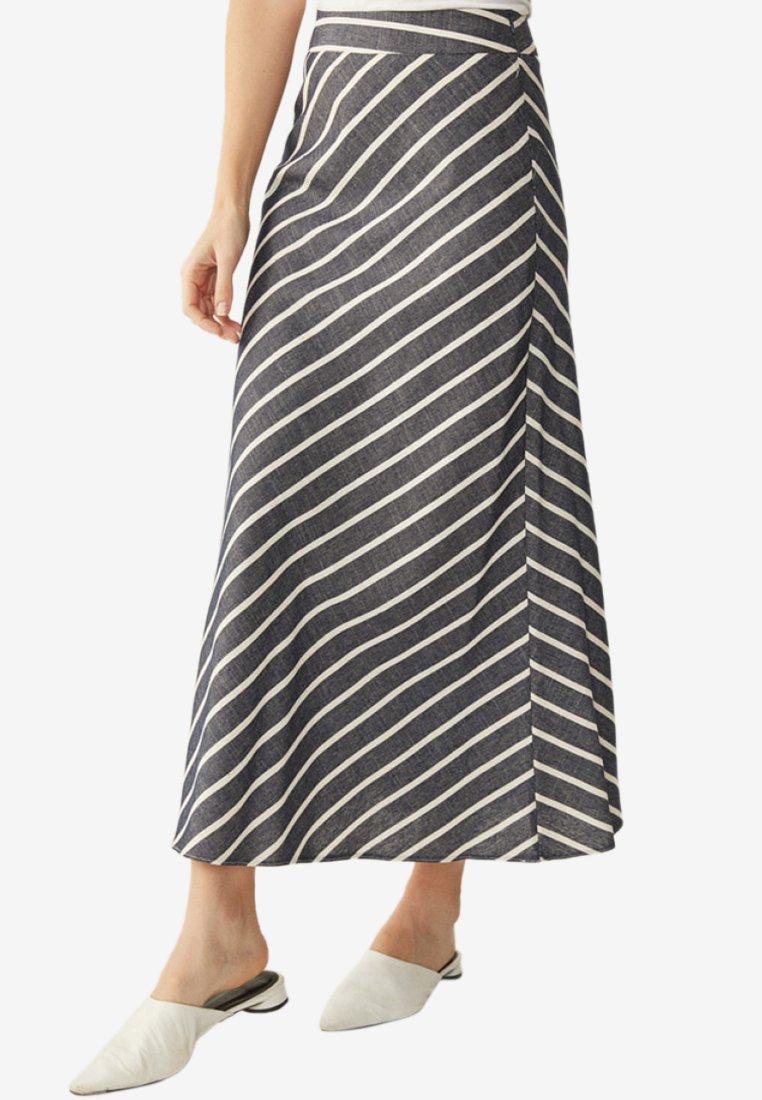 Touché Privé - A-line skirt - navy blue