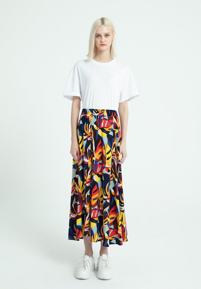 Maxi skirt - tropical
