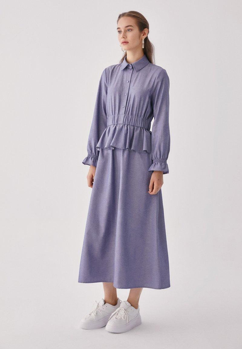 Touché Privé - FLYWHEEL  - Shirt dress - blue