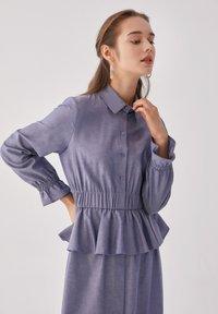 Touché Privé - FLYWHEEL  - Shirt dress - blue - 6