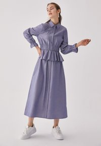 Touché Privé - FLYWHEEL  - Shirt dress - blue - 4