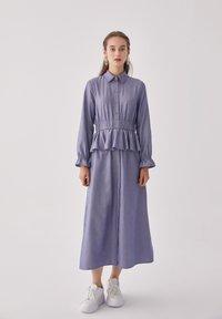 Touché Privé - FLYWHEEL  - Shirt dress - blue - 1