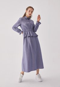 Touché Privé - FLYWHEEL  - Shirt dress - blue - 5