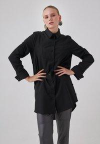 Touché Privé - Button-down blouse - black - 0