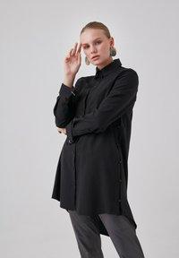 Touché Privé - Button-down blouse - black - 4