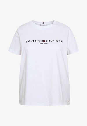 TEE CURVE - T-shirt imprimé - white