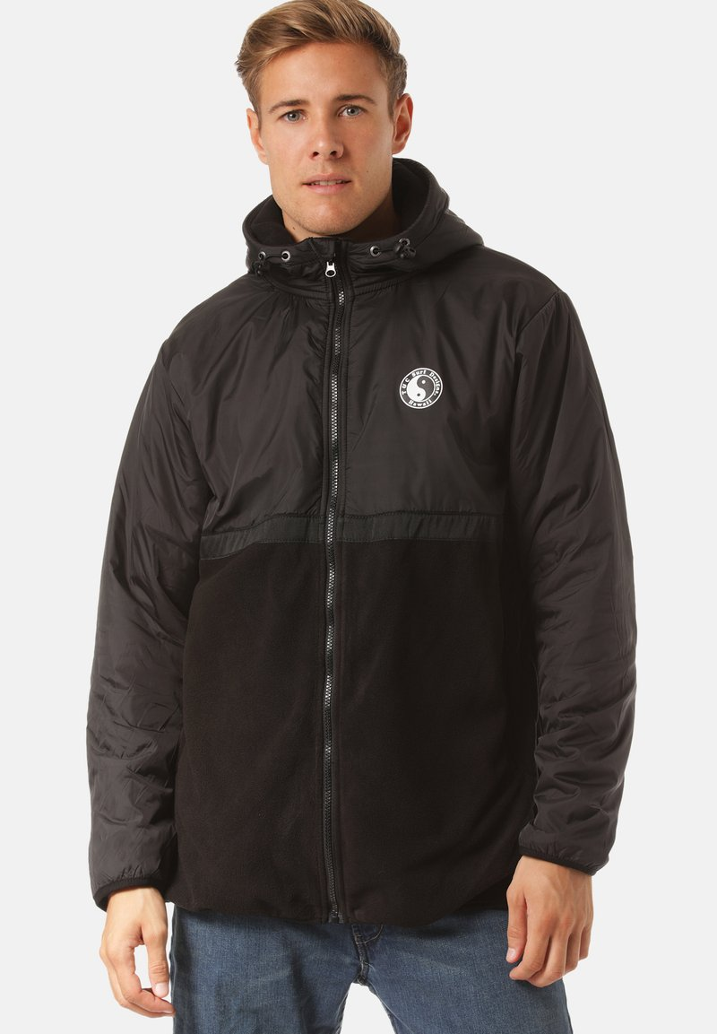 Town & Country Surf Designs - Fleecejas - black