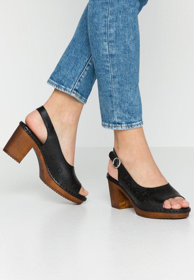 AMELIA - Clogs - black