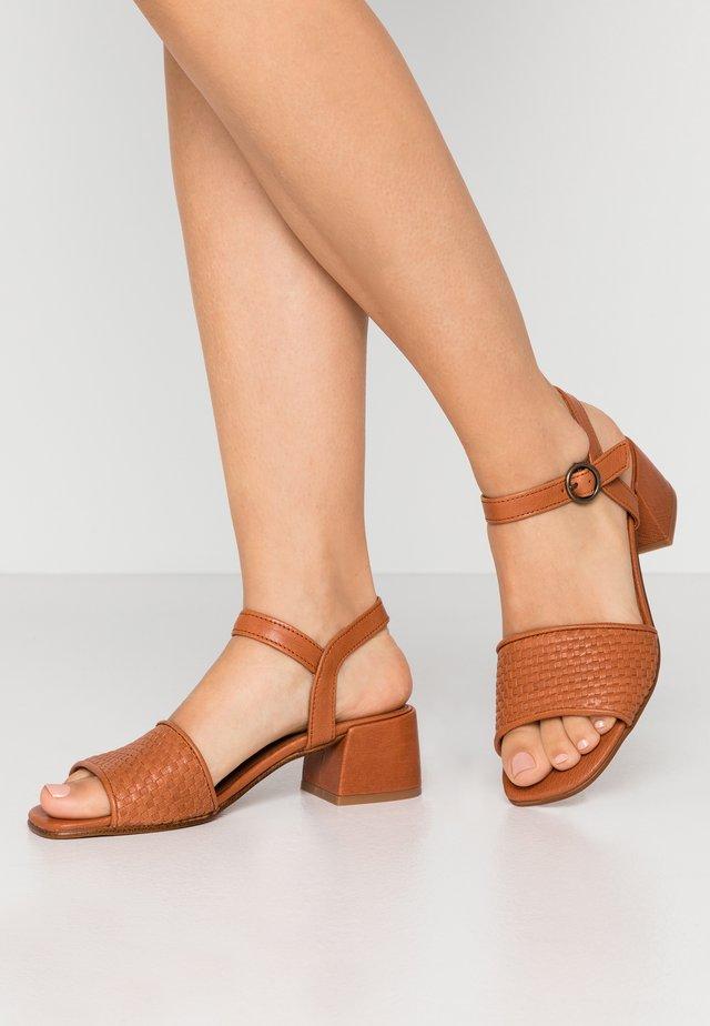 MIU - Sandals - cognac