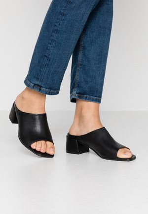 MIU - Heeled mules - black