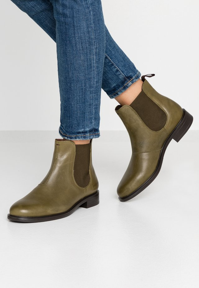 DAKOTA - Ankle boots - khaki