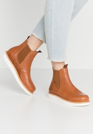 CARINA - Classic ankle boots - cognac