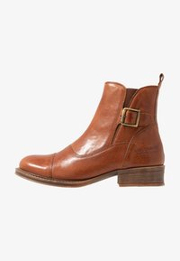 Ten Points - Classic ankle boots - cognac - 1