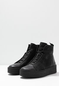 Ten Points - JOHANNA  - Platform ankle boots - black - 4