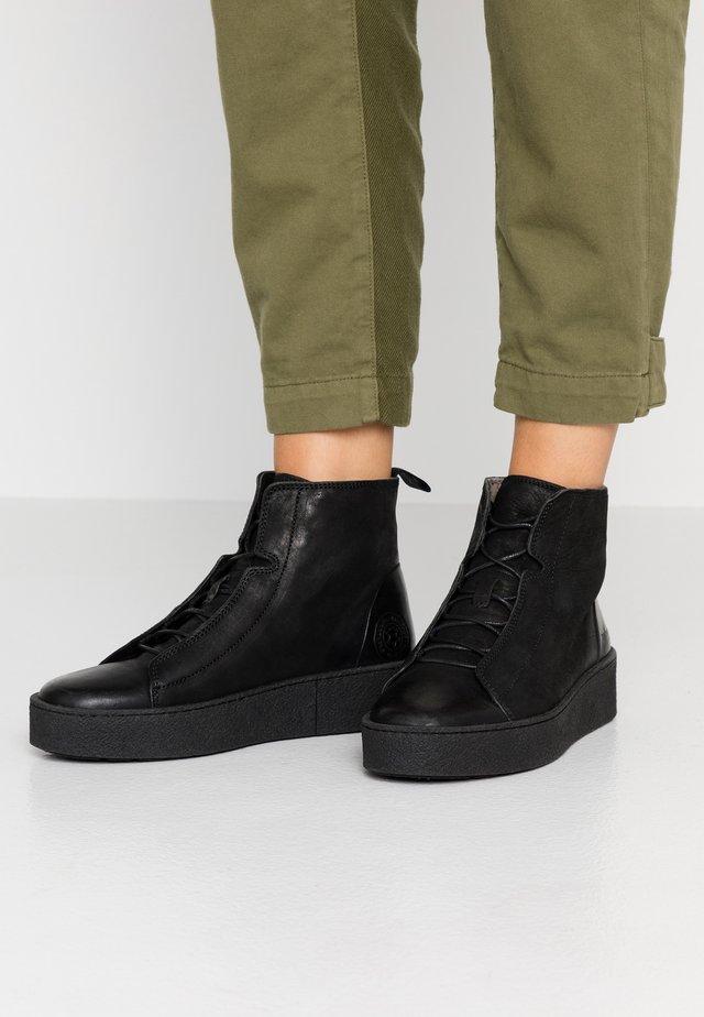 JOHANNA  - Platform ankle boots - black