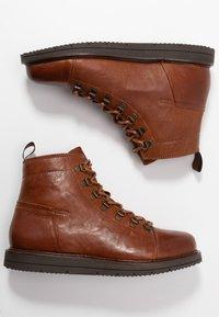 Ten Points - CARINA - Lace-up ankle boots - cognac - 1