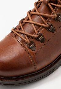 Ten Points - CARINA - Lace-up ankle boots - cognac - 5