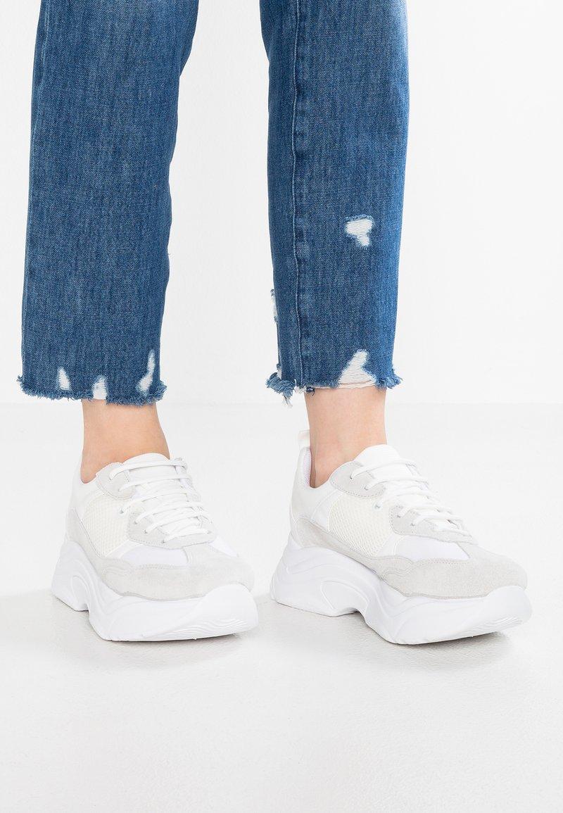 Topshop - CIARA CHUNKY - Sneakers - white