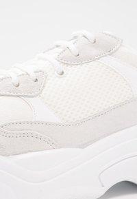 Topshop - CIARA CHUNKY - Sneakers - white - 2