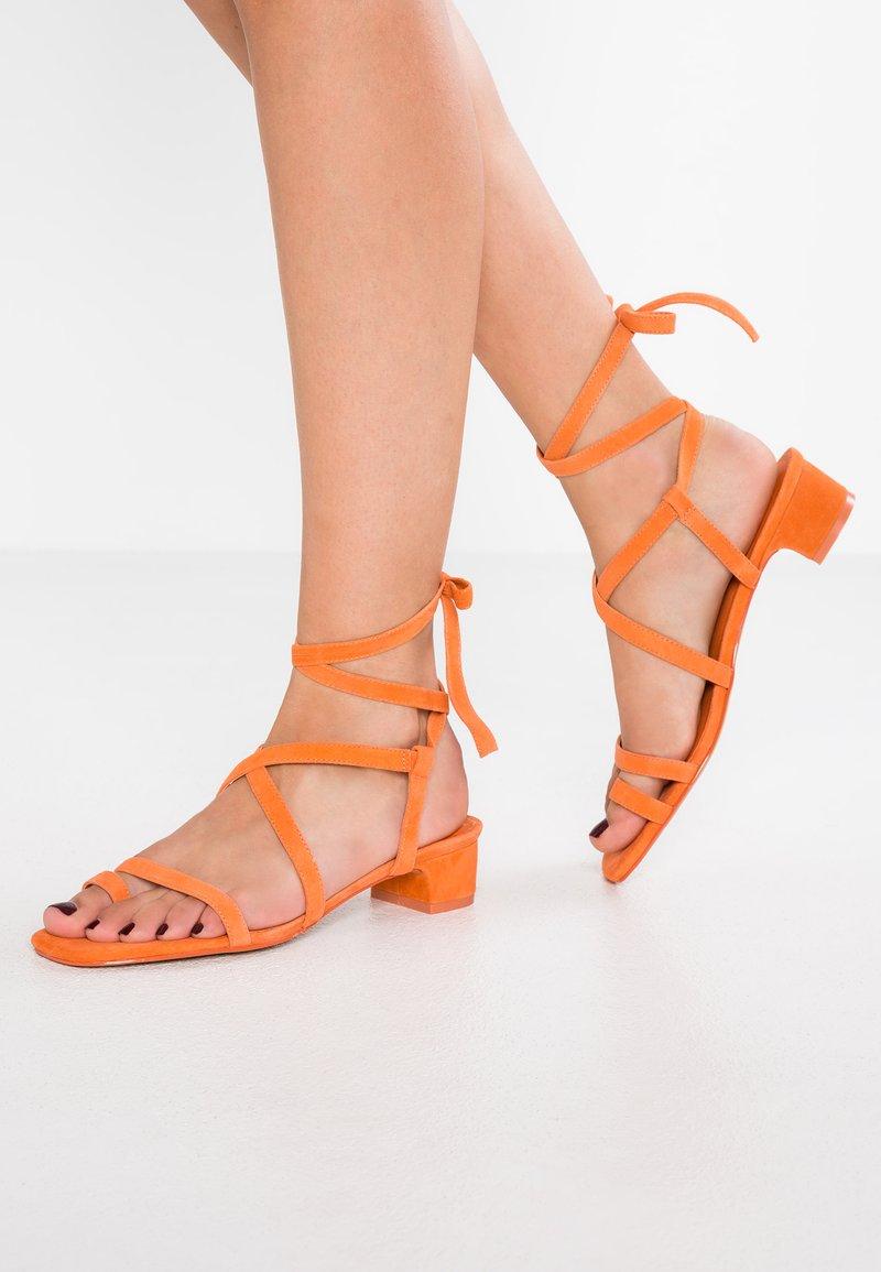 Topshop - FABLE - T-bar sandals - orange