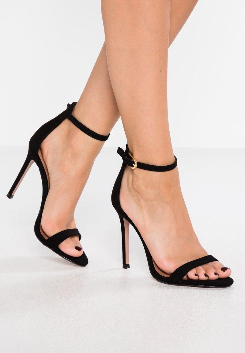 Topshop - SUSIE - Sandály na vysokém podpatku - black