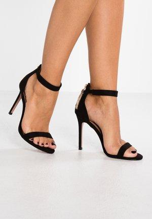 REVA - High heeled sandals - black