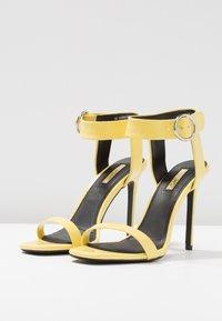 Topshop - RIA - High heeled sandals - yellow - 4