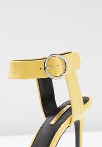 Topshop - RIA - High heeled sandals - yellow - 2