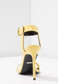 Topshop - RIA - High heeled sandals - yellow - 5
