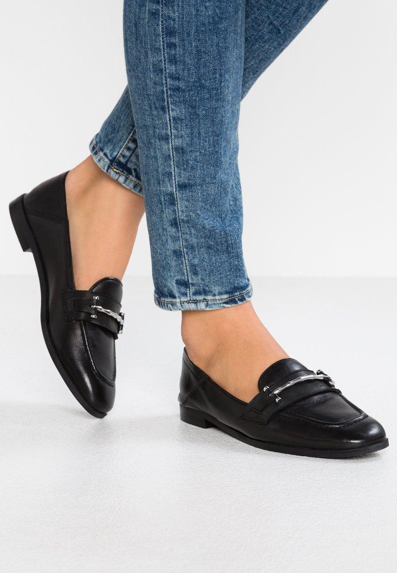 Topshop - KOKO LOAFER - Loafers - black