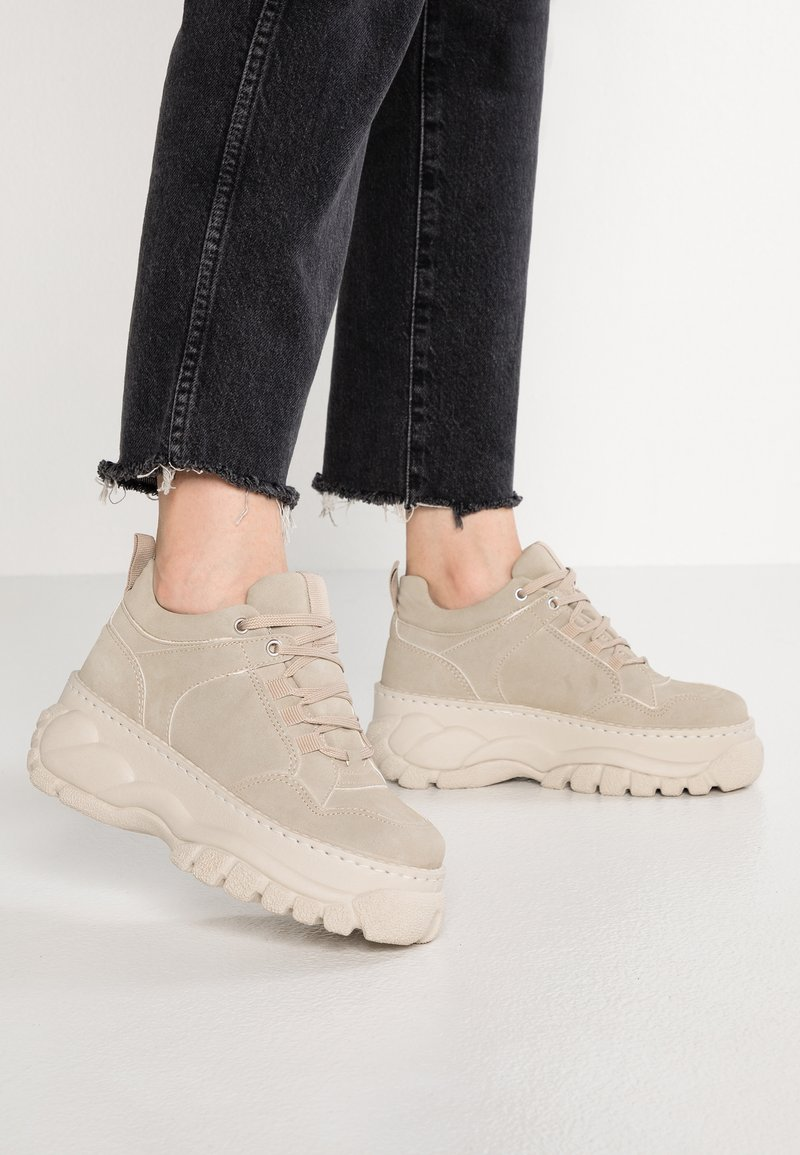 Topshop - CAIRO - Sneaker low - natural