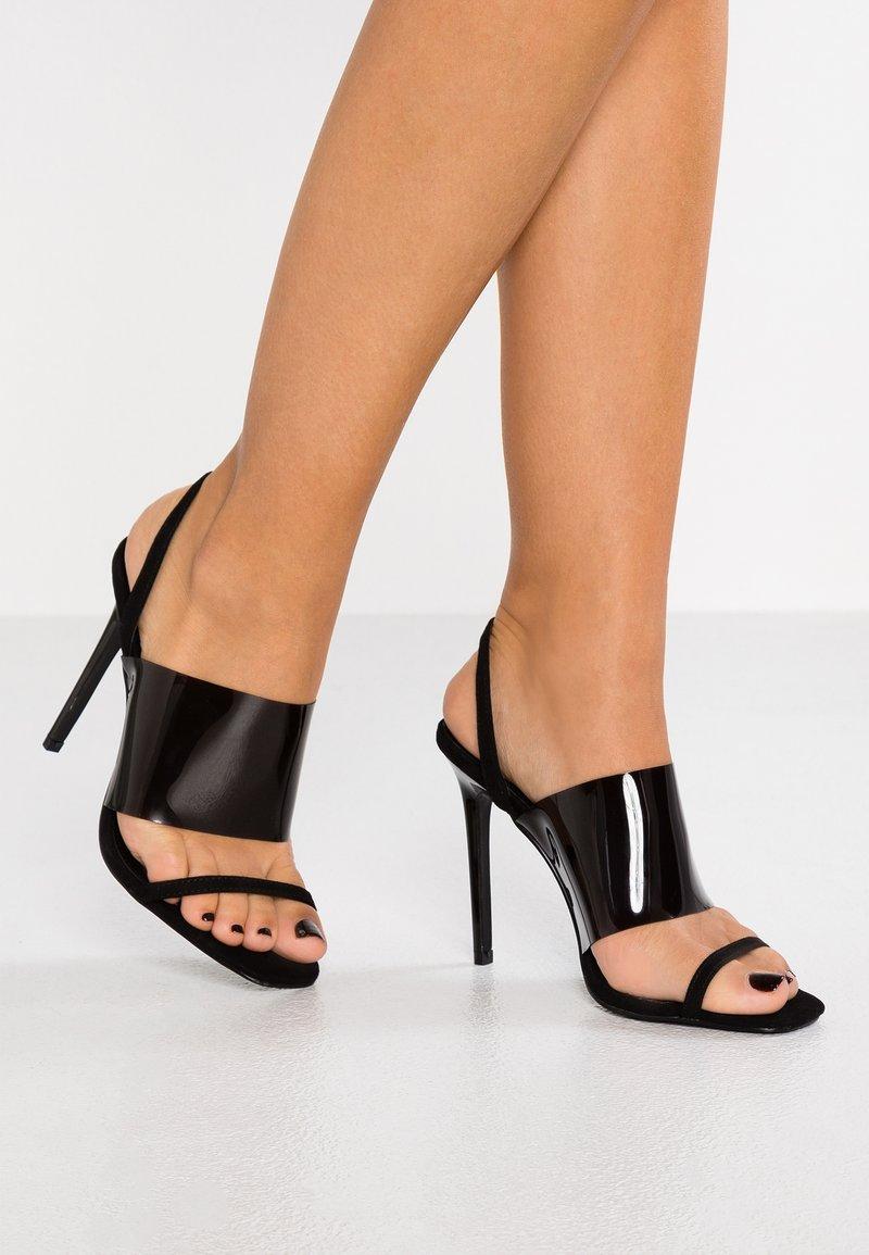 Topshop - RANDY - High heeled sandals - black