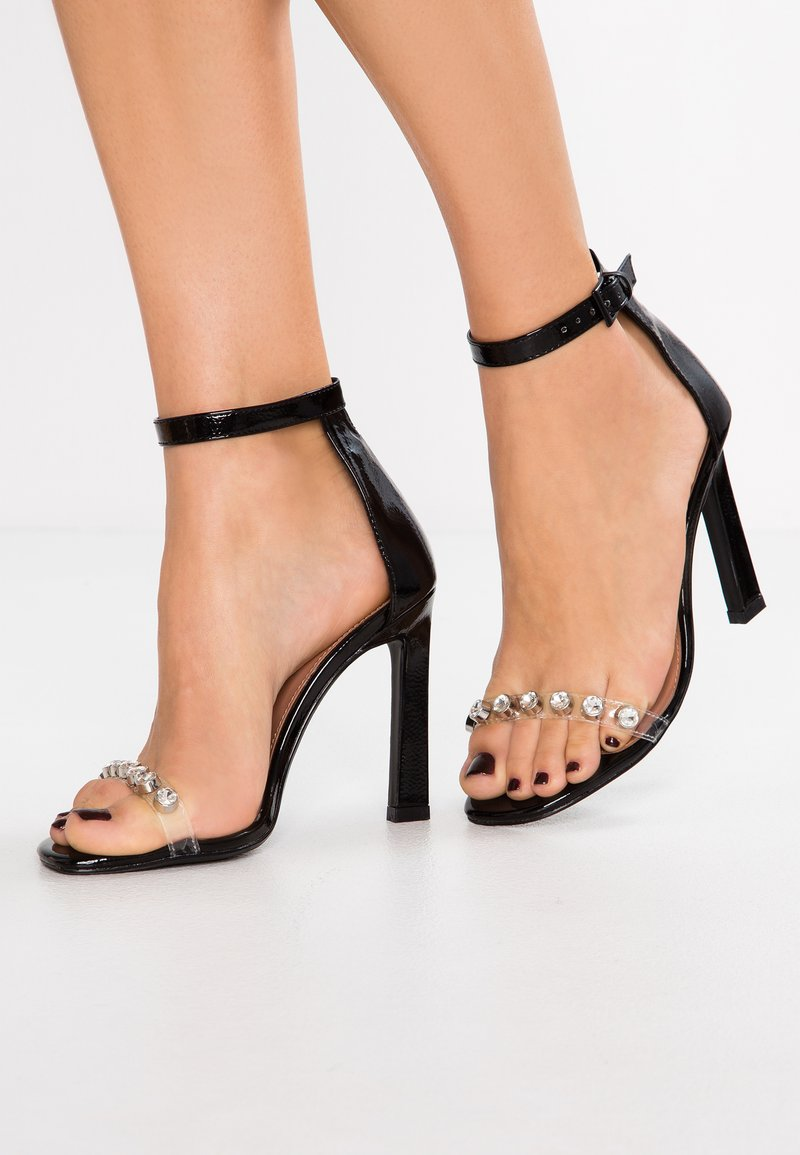 Topshop - SHERRY PART - Sandaletter - black