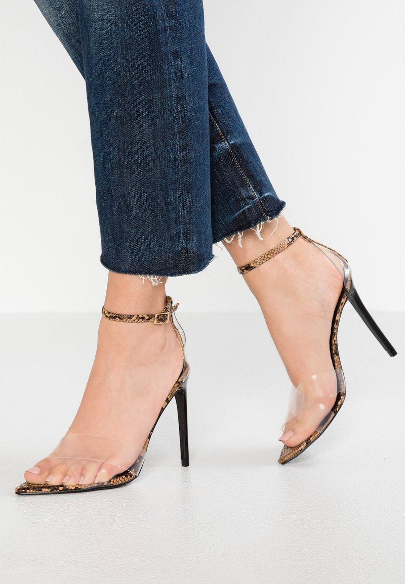 Topshop - RITCHIE - Højhælede sandaletter / Højhælede sandaler - multicolor