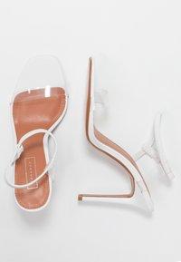 Topshop - TOE - Sandalen met hoge hak - white - 3