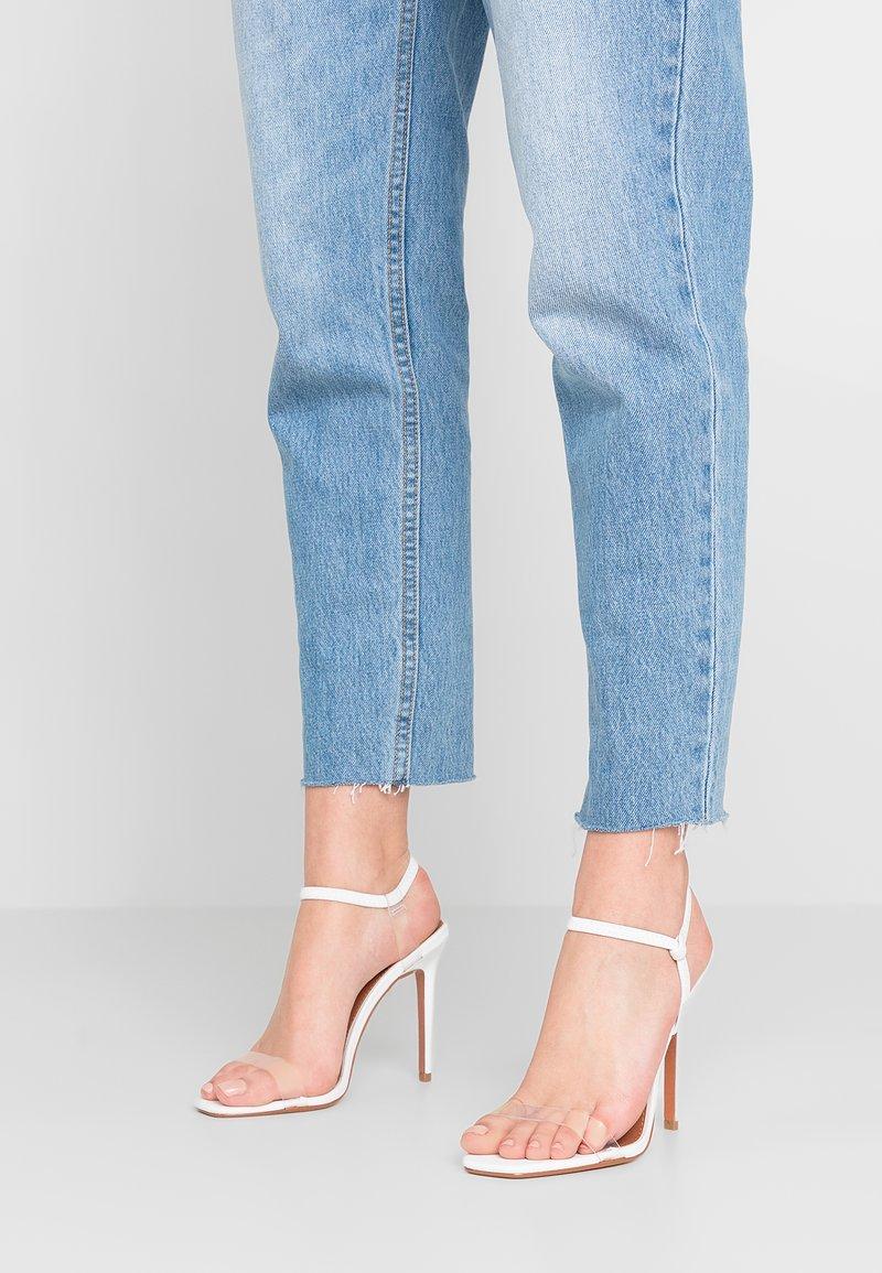 Topshop - TOE - Sandalen met hoge hak - white