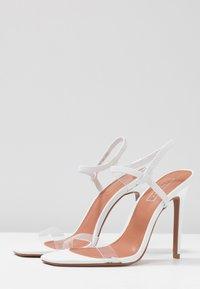 Topshop - TOE - Sandalen met hoge hak - white - 4