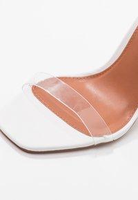 Topshop - TOE - Sandalen met hoge hak - white - 2