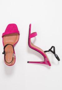 Topshop - TOE - Sandalen met hoge hak - pink - 3