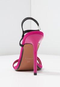 Topshop - TOE - Sandalen met hoge hak - pink - 5