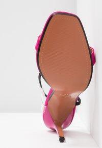Topshop - TOE - Sandalen met hoge hak - pink - 6