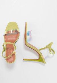 Topshop - TOE - Sandalen met hoge hak - lime - 3