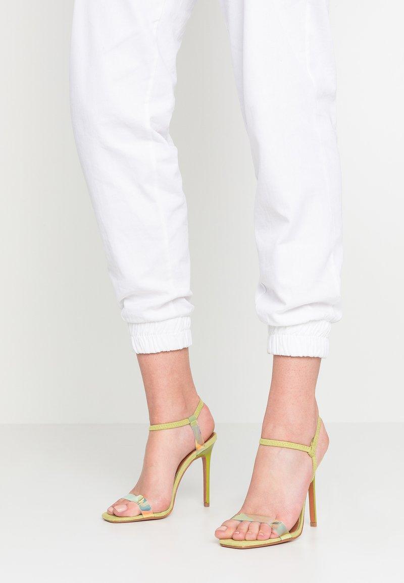Topshop - TOE - Sandalen met hoge hak - lime
