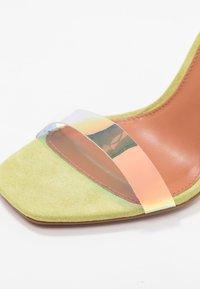 Topshop - TOE - Sandalen met hoge hak - lime - 2