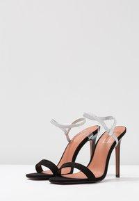 Topshop - TOE - Sandály na vysokém podpatku - black - 4