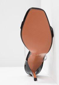 Topshop - TOE - Sandály na vysokém podpatku - black - 6